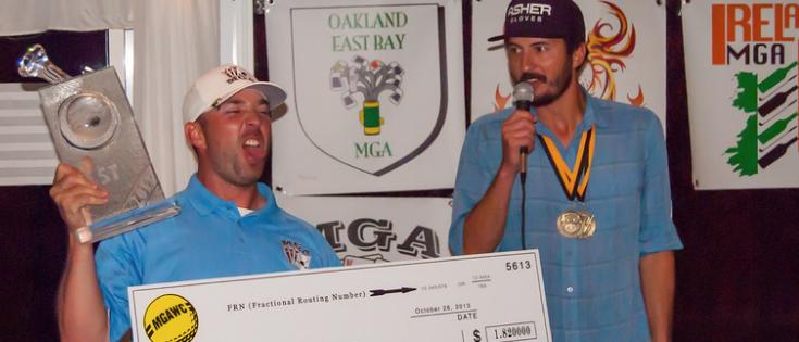 Jason Smith MGA World Champ 2013