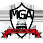 madison mga logo mediocre golf association