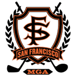 San Francisco MGA logo mediocre golf association