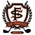 San Francisco MGA logo mediocre golf association